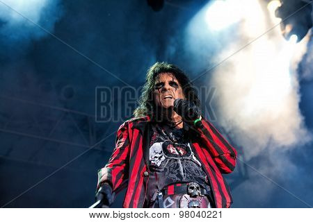 Alice Cooper In Concert