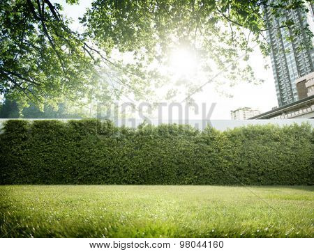 Greenfield Environment Green Garden Cityscape Concept