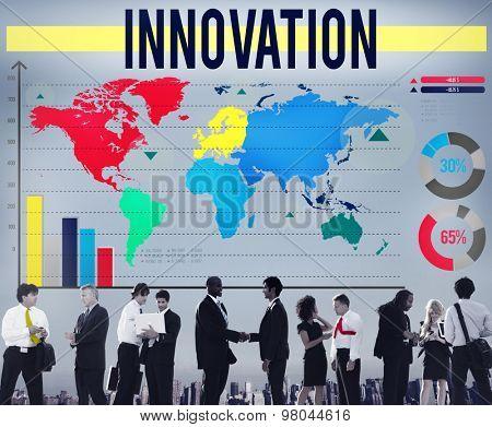 Innovation Creativity Ideas Invention Mission Concept