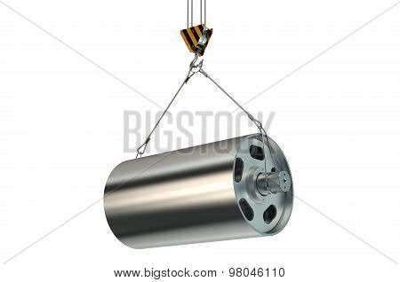 Crane Hook With Metal Construction
