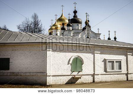 Bogoyavlensky (Epiphany) Monastery in Kostroma, Russia