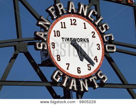 San Francisco Giants Scoreboard Clock By Timeworks