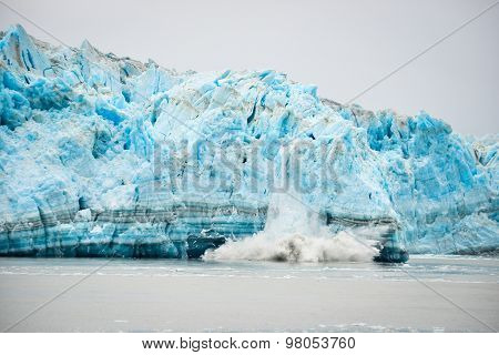 Glacier Calving - Natural Phenomenon