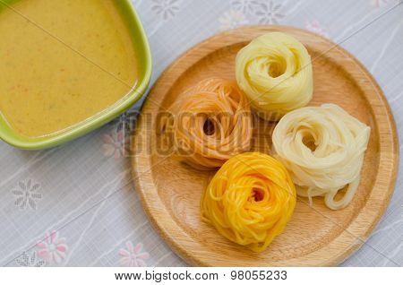 Fermented Rice Flour Noodle