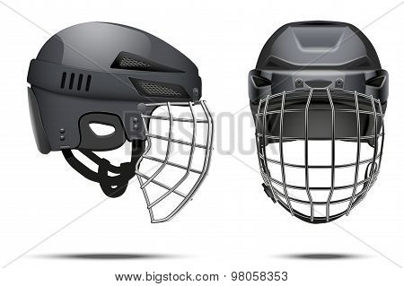 Classic Goalkeeper Hockey Helmet