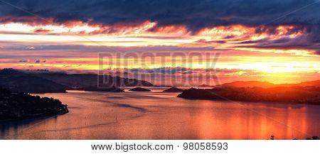 A Pastel Coloured Sunrise