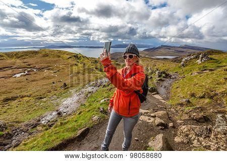 Selfie at Old Man of Storr