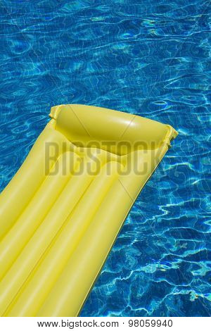 Mattress In Swimming Pool