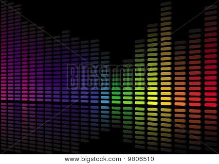 Sound Level Abstract 3D