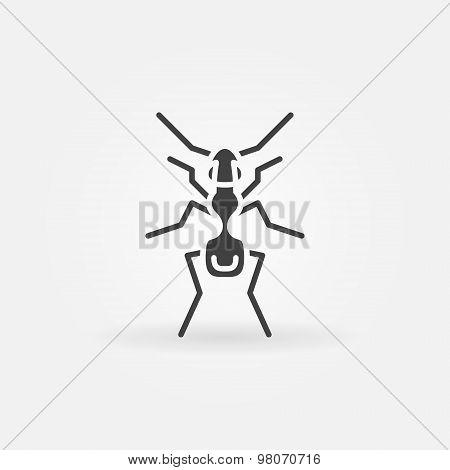 Ant icon or logo
