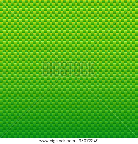 Simple Green Background With Rectangles