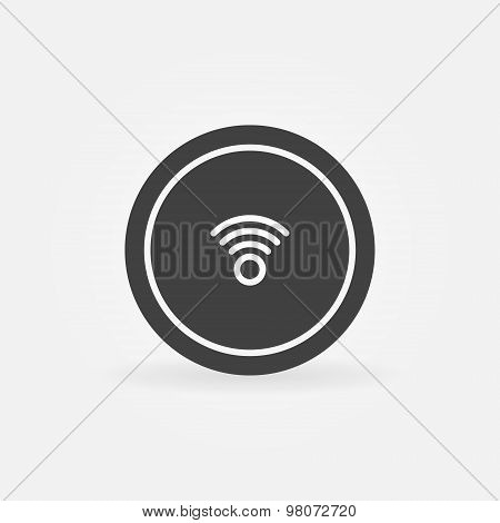 Wi-Fi icon or button