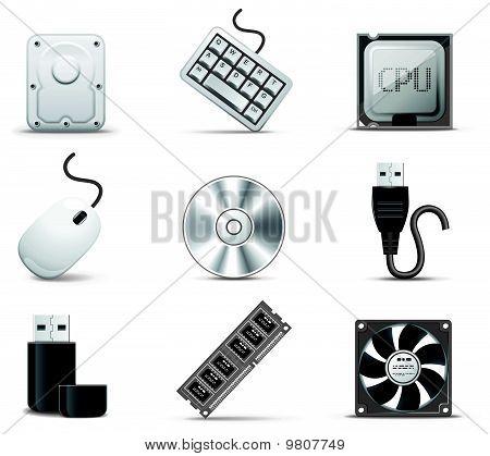 Computer Parts B&W