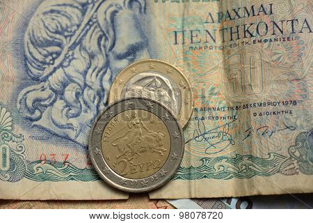 Greek Euro Coins