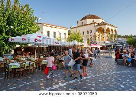 Monastiraki square, Athens.