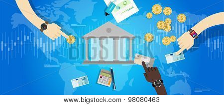 international central bank banking industry market financial