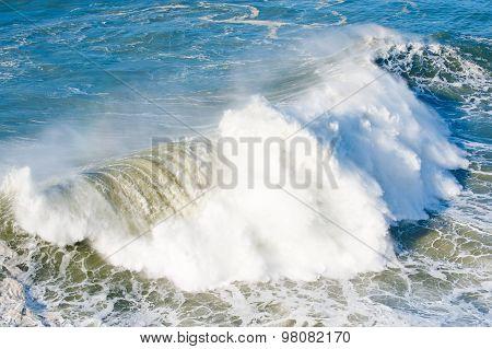 Atlantic Waves And Beach