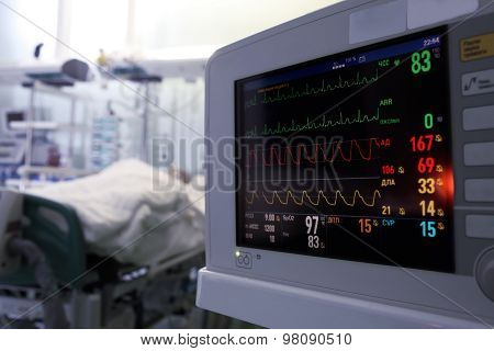 Clock Monitoring Of Patients In Icu