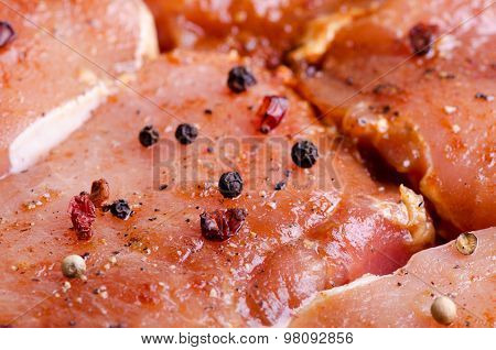 Pork Marinated With Soy Sauce And Spices