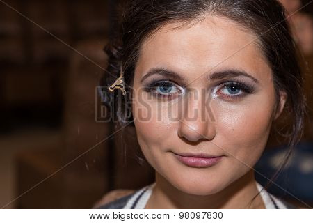 Beautiful girl. Beauty Photo.