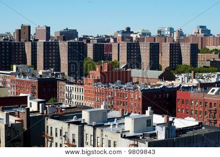 View on the Harlem, NYC