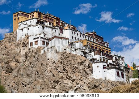 Tiksey Buddhist Monastery In Ladakh, India