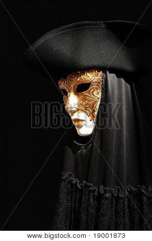 Geheimnisvolle venezianische Maske