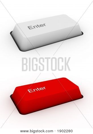 Enter - Keyboard Button