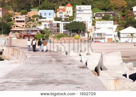 Houses Next To Beach