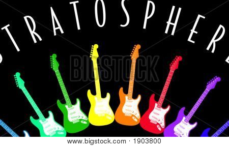 Electric-Guitar-Stratosphere