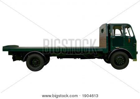 Vintage Flatbed Lorry