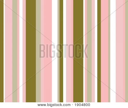 Pink, Brown & White Striped Background