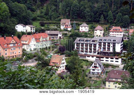 Black Forest Region / Schwarzwald Scenery, Southwestern Germany