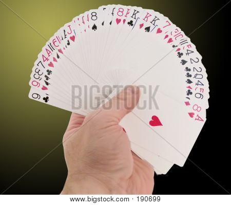 Fanned Card Deck