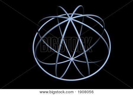 5 Blue Circles