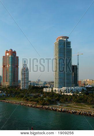 Buildings On Florida Coast