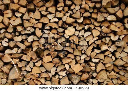Neat Woodpile