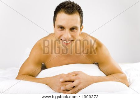 Man In The Bed