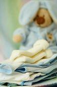 Постер, плакат: Одежда для новорожденных