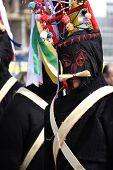 image of mummer  - Bulgaria mummers parade 2008 - JPG