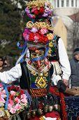 pic of mummer  - Bulgaria mummers parade 2008 - JPG