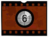 Постер, плакат: Фильм отсчет времени 6