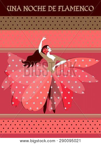 Beautiful Spanish Ballerina Dressed In