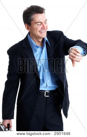 Punctual Businessman