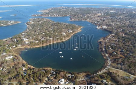 Cape Cod Aerial Photo Of Chatham