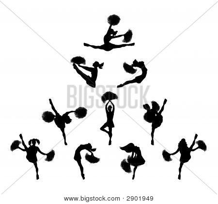 Cheerleader Pyramid 1