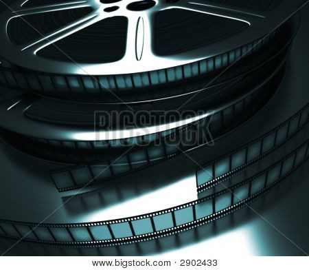 Film Reel (Dark Room)