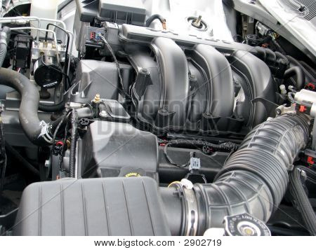Engine In New Car