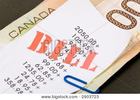 Bills And Canadian Dollars