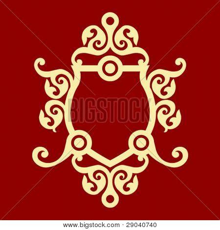 ornamental blazonry decoration
